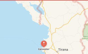 termeti, shqiperi